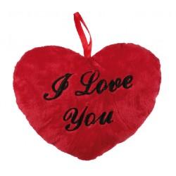 Corazón de Peluche I Love You (18 cm) - Imagen 1