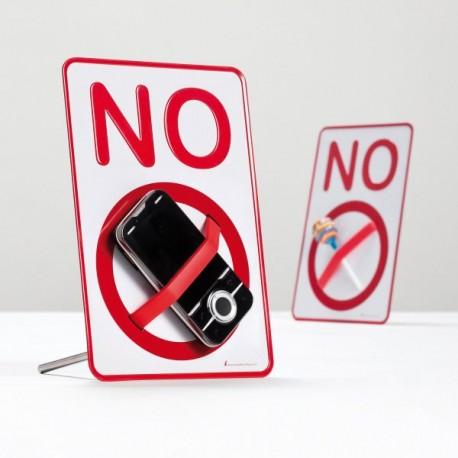 Placa Prohibido No Sign - Imagen 1