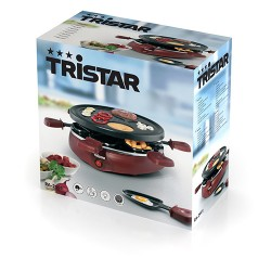 Raclette Gourmet Tristar RA2991 con 6 Sartenes - Imagen 1