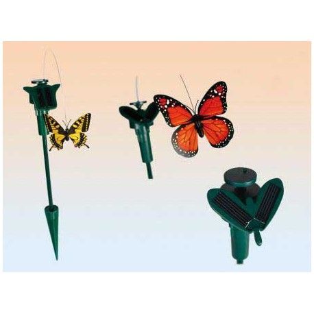Mariposa Solar para Macetas - Imagen 1