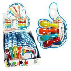 Cubiertos de Plástico Dedo - Imagen 1