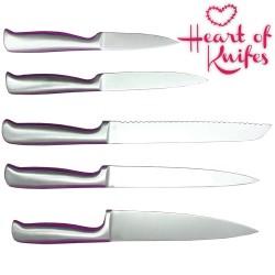 Juego de Cuchillos Soporte Corazón Heart of Knives - Imagen 1
