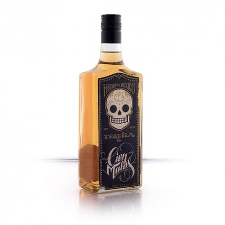 Tequila Dorado Cien Malos - Imagen 1