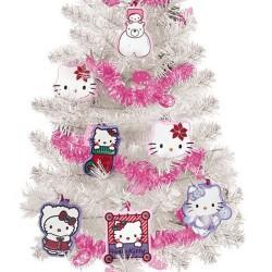 Árbol de Navidad Hello Kitty con Adornos - Imagen 1