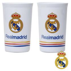 Set 2 Vasos FC Real Madrid