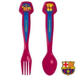 Set de 2 Cubiertos FC Barcelona - Imagen 1