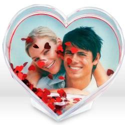 Portafotos Corazón para 1 Foto - Imagen 1