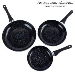 Sartenes Revestimiento Piedra Black Stone Pan (3 Piezas) - Imagen 1