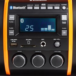 Super Radio MP3 Bluetooth AudioSonic RD1549 - Imagen 1