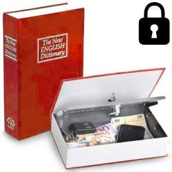 Caja de Caudales Camuflada en Libro Diccionario
