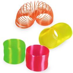 Espiral de Plástico Neón - Imagen 1