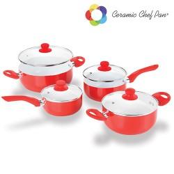 Batería de Cocina Ceramic Chef Pan (8 piezas) - Imagen 1