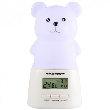 Lámpara LED Quitamiedos con Reloj TopCom KL4330 - Imagen 1