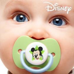 Chupetes de Silicona Mickey (pack de 2)