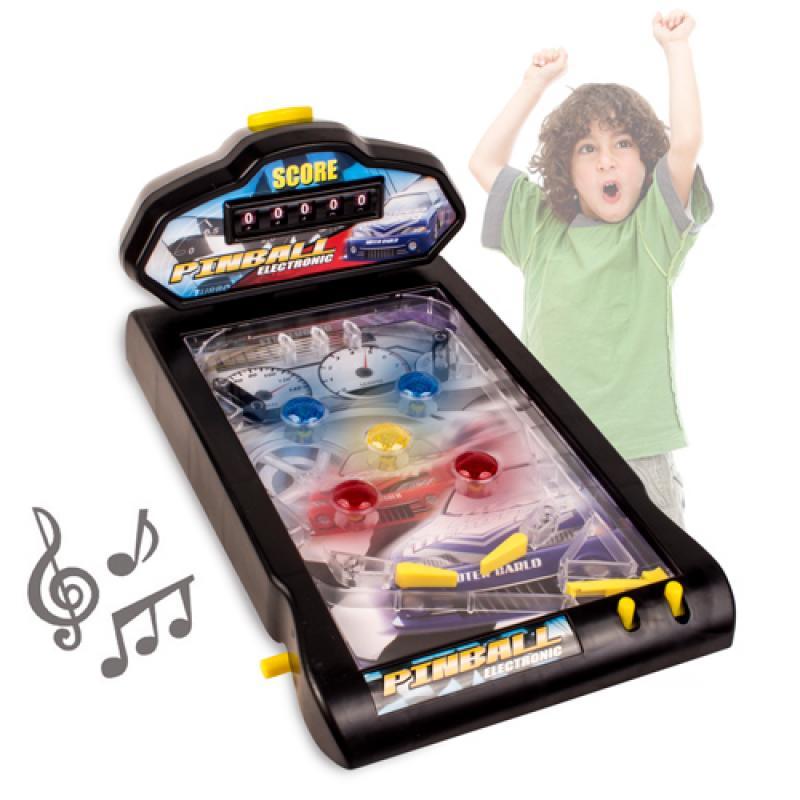Pinball electr nico de mesa comprar online for Pinball de mesa