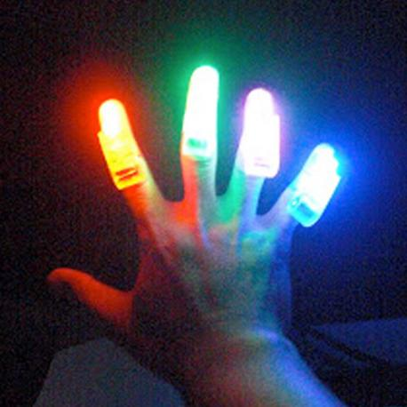 LEDs para Dedos (pack de 4) - Imagen 1