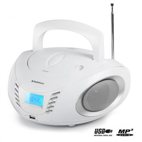Radio CD MP3 USB AudioSonic CD1593 - Imagen 1
