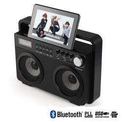 Radio Retro MP3 Bluetooth AudioSonic RD1557 - Imagen 1
