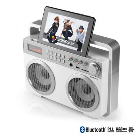 Radio Retro MP3 Bluetooth AudioSonic RD1559 - Imagen 1