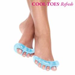 Separadores de Dedos de Gel Cool Toes Refresh