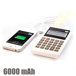 Calculadora Power Bank 6000 mAh - Imagen 1