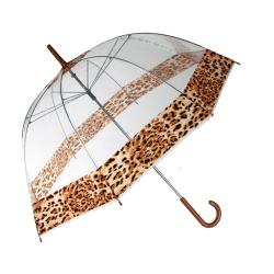 Paraguas Burbuja Leopardo - Imagen 1