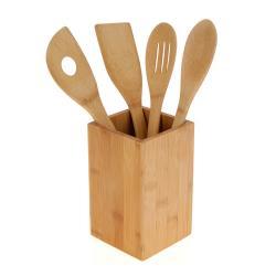 Utensilios de Cocina Bambú (5 piezas)